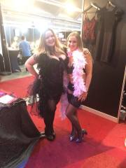 burlesque stand
