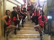 posing burlesque fun