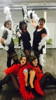 burlesque boa's dans kamaworld
