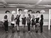 waaiers lessen burlesque