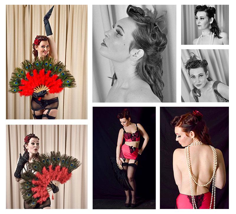KAMA Burlesque shoot